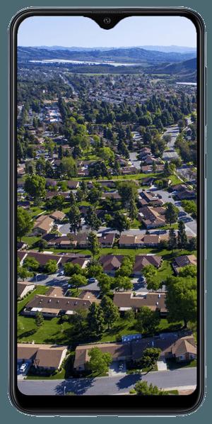 Visite virtuelle drone